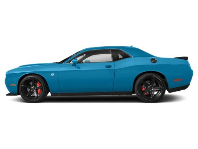 B5 Blue Pearlcoat 2019 Dodge Challenger Pictures Challenger SRT Hellcat RWD photos side view
