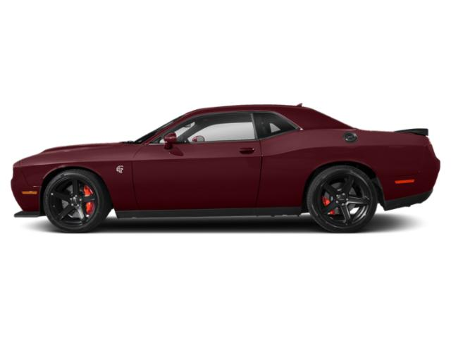Octane Red Pearlcoat 2019 Dodge Challenger Pictures Challenger SRT Hellcat RWD photos side view