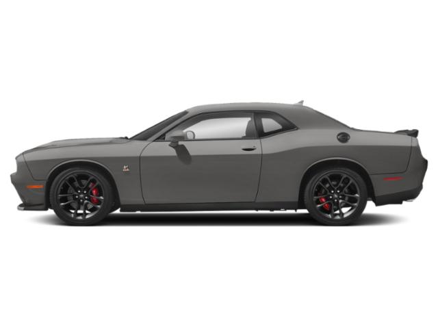 Triple Nickel Clearcoat 2019 Dodge Challenger Pictures Challenger SRT Hellcat RWD photos side view