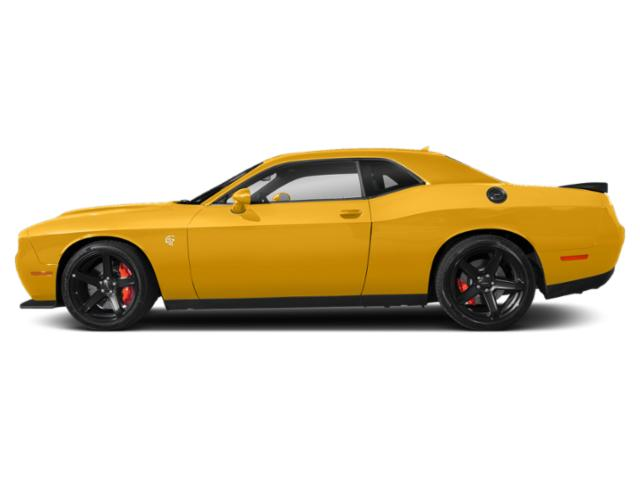 Yellow Jacket Clearcoat 2019 Dodge Challenger Pictures Challenger SRT Hellcat RWD photos side view