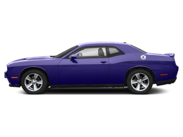 Plum Crazy Pearlcoat 2019 Dodge Challenger Pictures Challenger SXT RWD photos side view