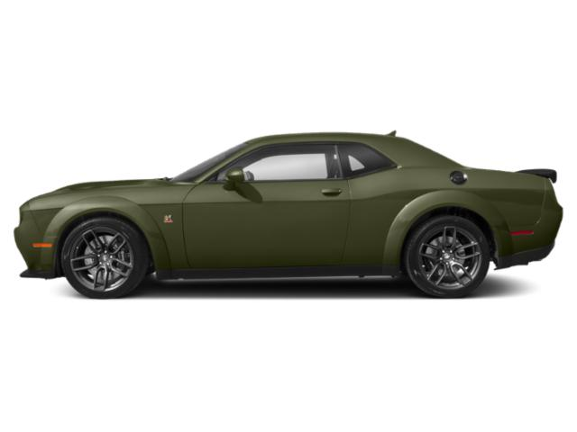 F8 Green 2019 Dodge Challenger Pictures Challenger SXT AWD photos side view