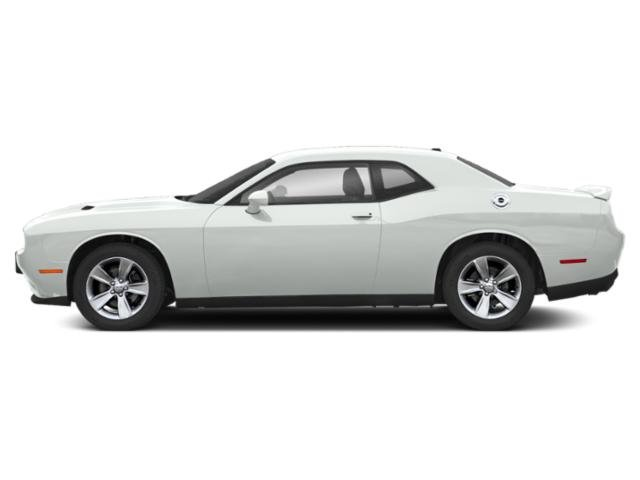 White Knuckle Clearcoat 2019 Dodge Challenger Pictures Challenger SXT AWD photos side view