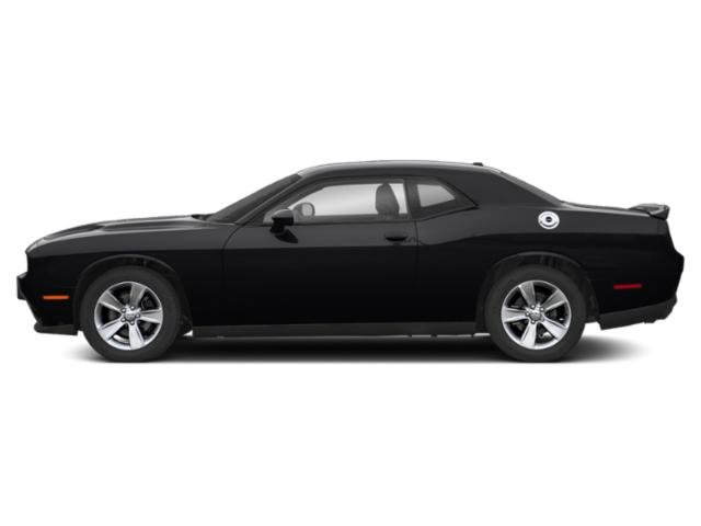 Pitch Black Clearcoat 2019 Dodge Challenger Pictures Challenger SXT AWD photos side view
