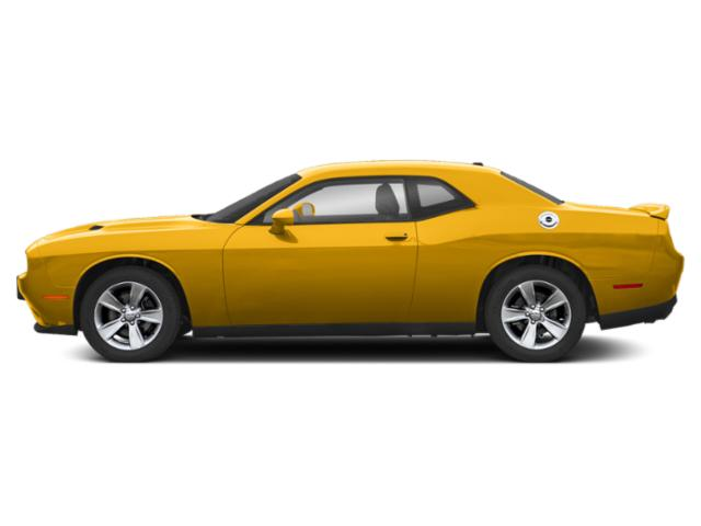 Yellow Jacket Clearcoat 2019 Dodge Challenger Pictures Challenger SXT AWD photos side view