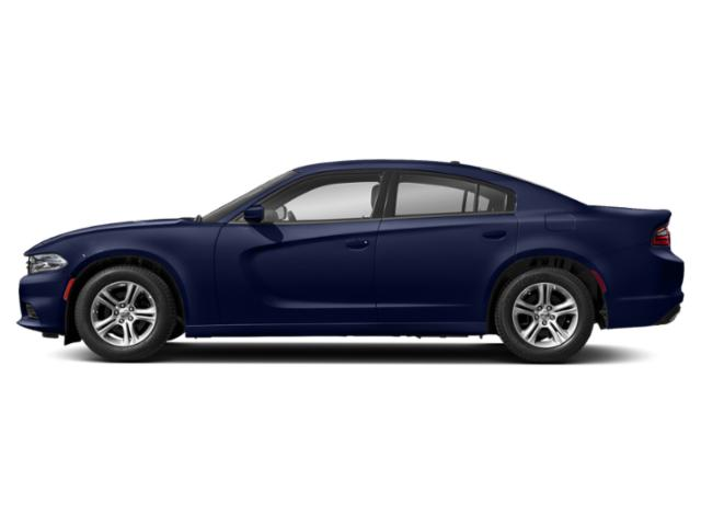 Indigo Blue 2019 Dodge Charger Pictures Charger SRT Hellcat RWD photos side view