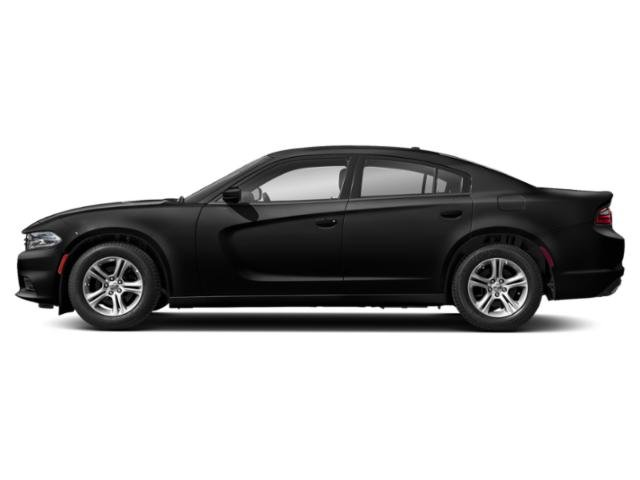 Pitch Black Clearcoat 2019 Dodge Charger Pictures Charger R/T RWD photos side view
