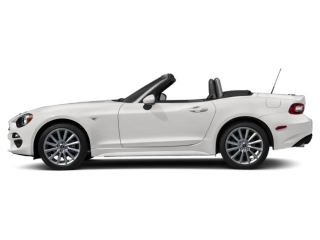Brillante White 2019 FIAT 124 Spider Pictures 124 Spider Lusso Convertible photos side view