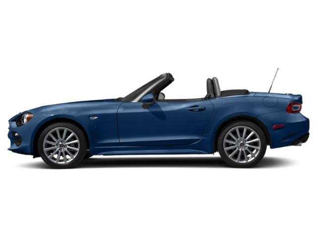 Mare Blue Metallic 2019 FIAT 124 Spider Pictures 124 Spider Lusso Convertible photos side view