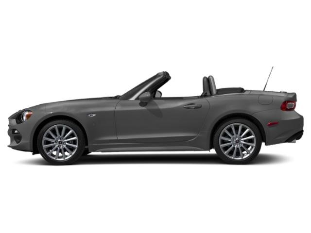 Ceramica Gray Metallic 2019 FIAT 124 Spider Pictures 124 Spider Lusso Convertible photos side view