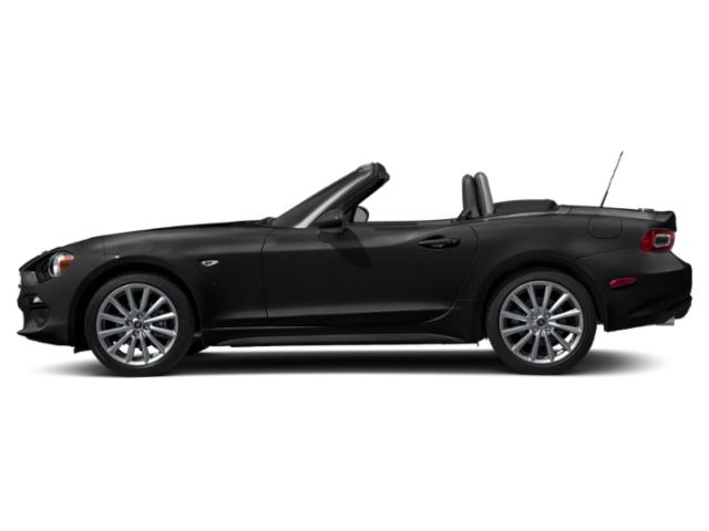 Forte Black Metallic 2019 FIAT 124 Spider Pictures 124 Spider Lusso Convertible photos side view