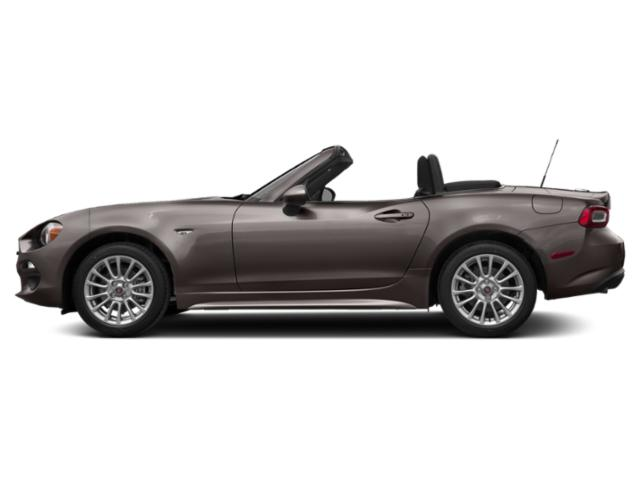 Moda Gray Metallic 2019 FIAT 124 Spider Pictures 124 Spider Classica Convertible photos side view
