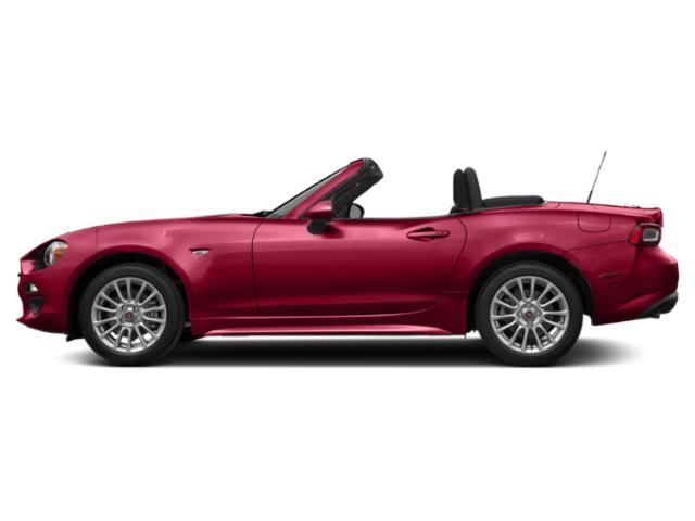 Hypnotique Red 2019 FIAT 124 Spider Pictures 124 Spider Classica Convertible photos side view