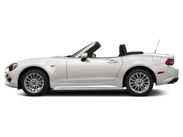 Brillante White 2019 FIAT 124 Spider Pictures 124 Spider Classica Convertible photos side view