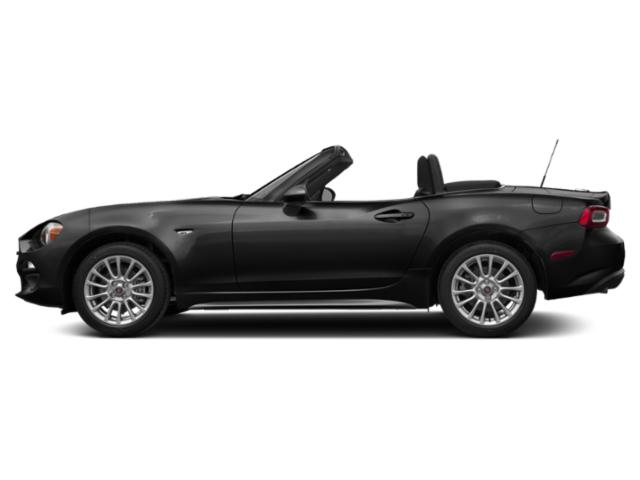 Forte Black Metallic 2019 FIAT 124 Spider Pictures 124 Spider Classica Convertible photos side view