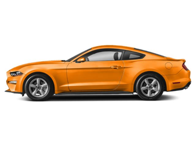 Orange Fury Metallic Tri-Coat 2019 Ford Mustang Pictures Mustang EcoBoost Fastback photos side view