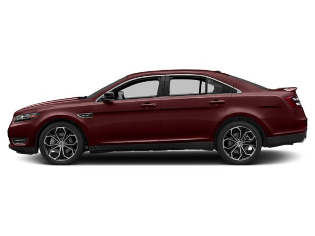 Burgundy Velvet Metallic Tinted Clearcoat 2019 Ford Taurus Pictures Taurus SEL FWD photos side view