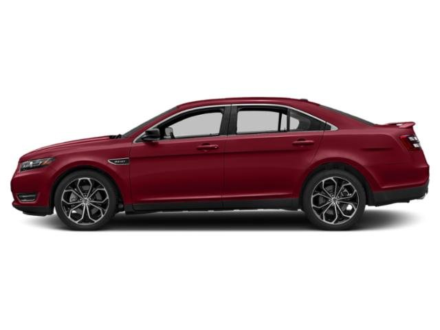 Ruby Red Metallic Tinted Clearcoat 2019 Ford Taurus Pictures Taurus SHO AWD photos side view