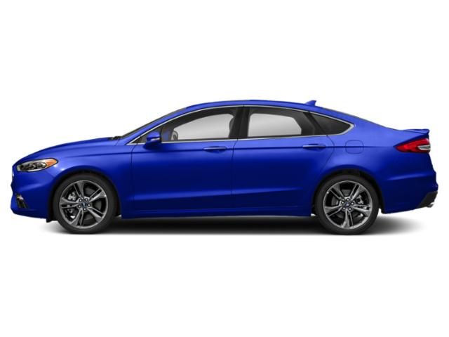 Velocity Blue Metallic 2019 Ford Fusion Pictures Fusion Sport AWD photos side view