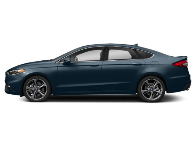 Blue Metallic 2019 Ford Fusion Pictures Fusion Sport AWD photos side view