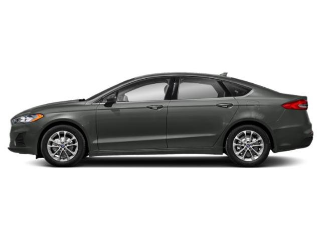 Magnetic Metallic 2019 Ford Fusion Pictures Fusion Sport AWD photos side view