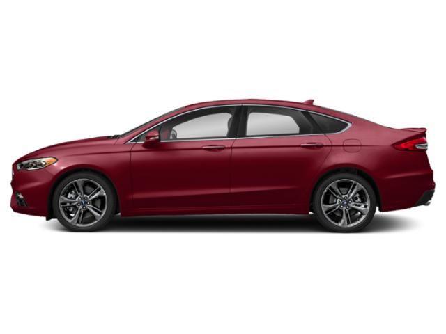 Ruby Red Metallic Tinted Clearcoat 2019 Ford Fusion Pictures Fusion Sport AWD photos side view