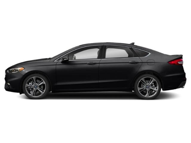 Agate Black 2019 Ford Fusion Pictures Fusion Sport AWD photos side view