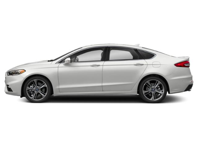 Oxford White 2019 Ford Fusion Pictures Fusion Sport AWD photos side view