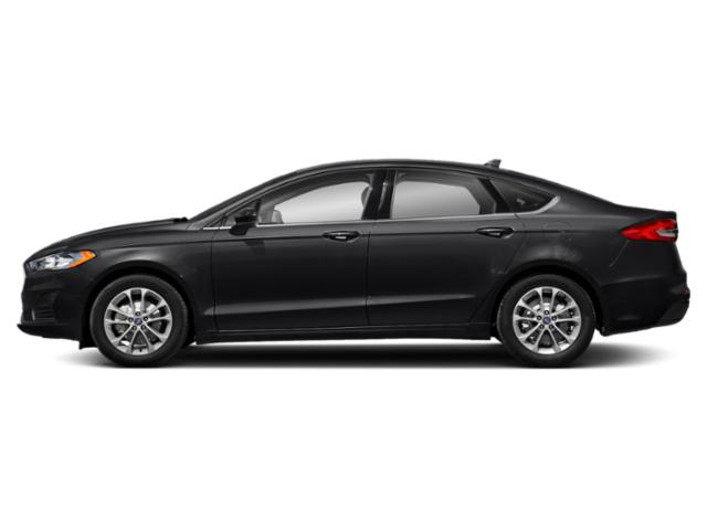 Agate Black 2019 Ford Fusion Pictures Fusion SEL FWD photos side view