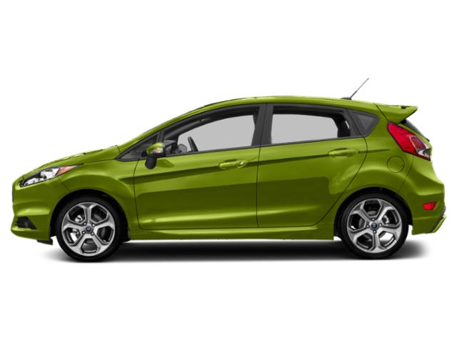 Outrageous Green Metallic Tinted Clearcoat 2019 Ford Fiesta Pictures Fiesta ST Line Hatch photos side view