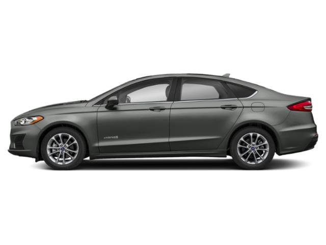Magnetic Metallic 2019 Ford Fusion Hybrid Pictures Fusion Hybrid SE FWD photos side view