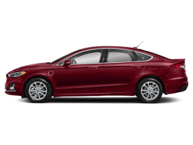 Ruby Red Metallic Tinted Clearcoat 2019 Ford Fusion Energi Pictures Fusion Energi Titanium FWD photos side view