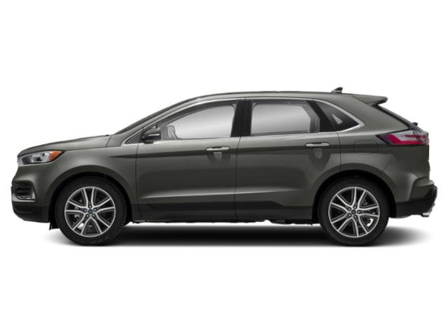 Baltic Sea Green Metallic 2019 Ford Edge Pictures Edge SEL AWD photos side view
