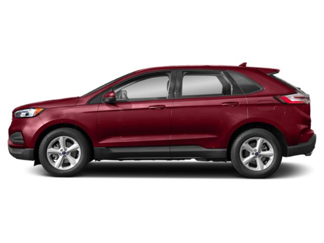 Ruby Red Metallic Tinted Clearcoat 2019 Ford Edge Pictures Edge SEL AWD photos side view