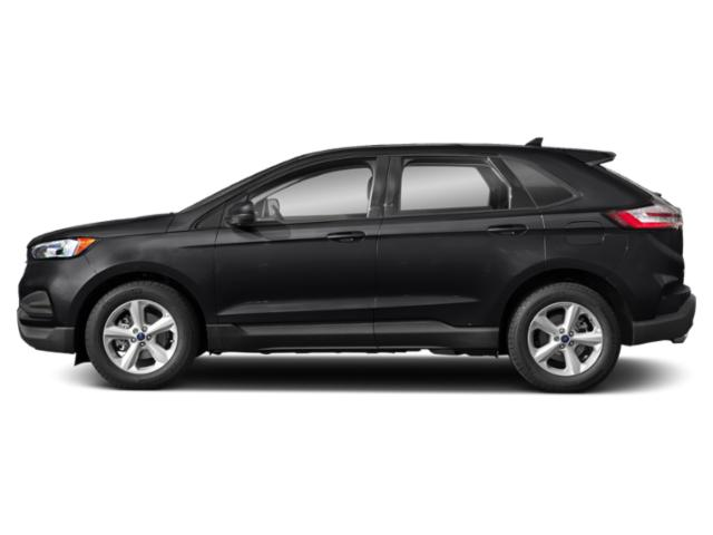 Agate Black Metallic 2019 Ford Edge Pictures Edge SEL AWD photos side view