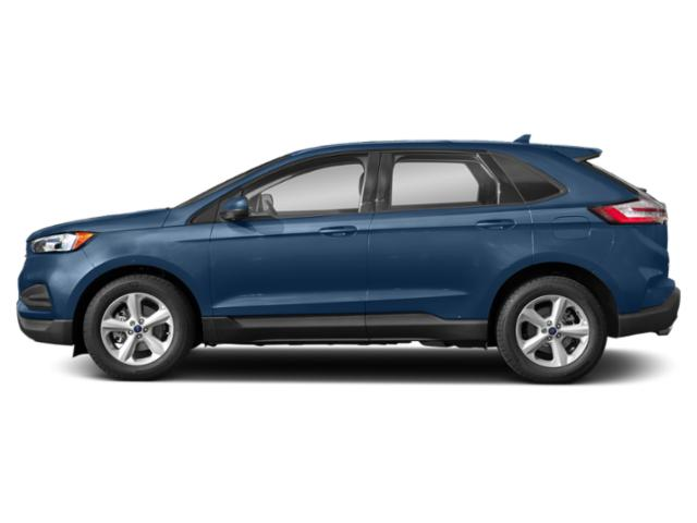 Blue Metallic 2019 Ford Edge Pictures Edge SE FWD photos side view