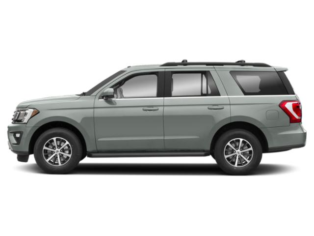 Silver Spruce Metallic 2019 Ford Expedition Pictures Expedition Platinum 4x2 photos side view
