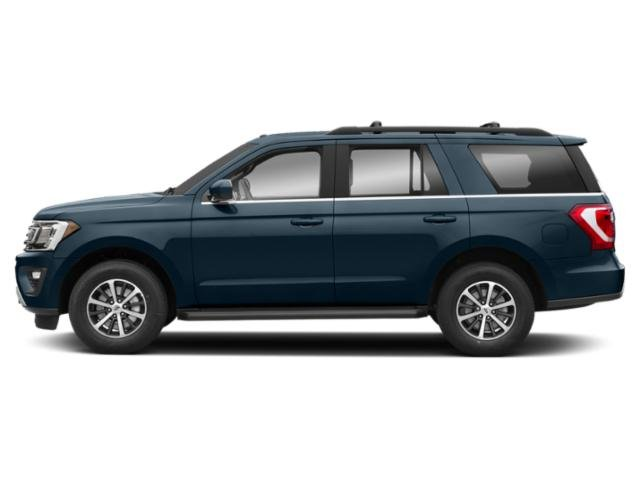 Blue Metallic 2019 Ford Expedition Pictures Expedition Platinum 4x2 photos side view