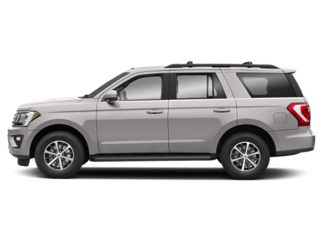 White Platinum Metallic Tri-Coat 2019 Ford Expedition Pictures Expedition Platinum 4x2 photos side view