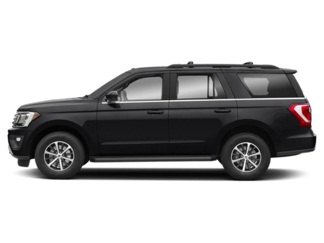 Agate Black Metallic 2019 Ford Expedition Pictures Expedition Platinum 4x2 photos side view