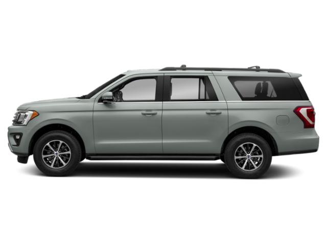 Silver Spruce Metallic 2019 Ford Expedition Max Pictures Expedition Max XLT 4x2 photos side view