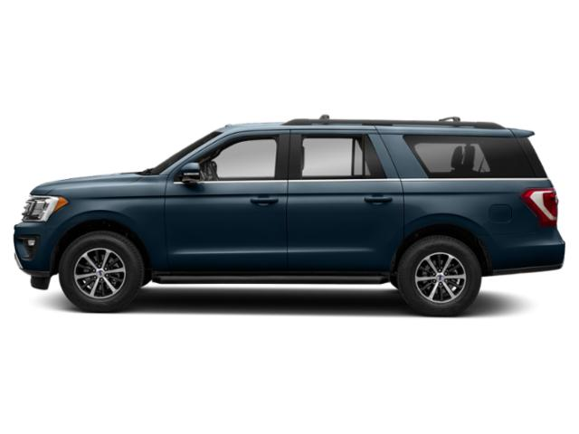 Blue Metallic 2019 Ford Expedition Max Pictures Expedition Max XLT 4x2 photos side view