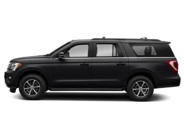 Agate Black Metallic 2019 Ford Expedition Max Pictures Expedition Max XLT 4x2 photos side view