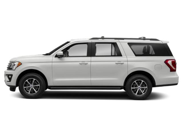 Oxford White 2019 Ford Expedition Max Pictures Expedition Max XLT 4x4 photos side view