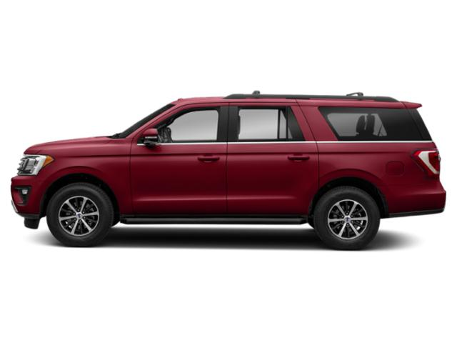 Ruby Red Metallic Tinted Clearcoat 2019 Ford Expedition Max Pictures Expedition Max Platinum 4x4 photos side view