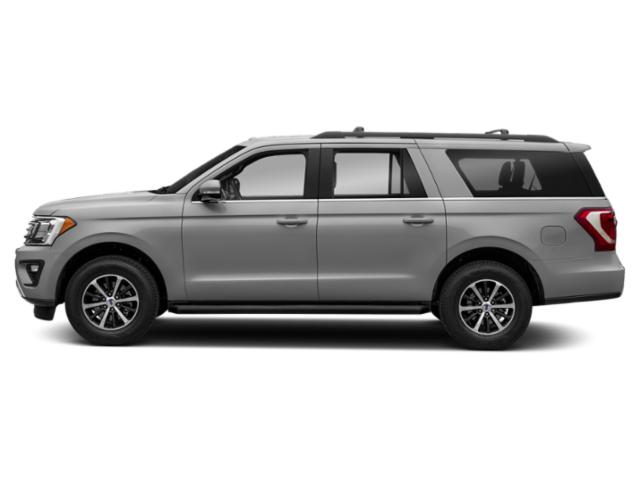 Ingot Silver Metallic 2019 Ford Expedition Max Pictures Expedition Max Platinum 4x4 photos side view