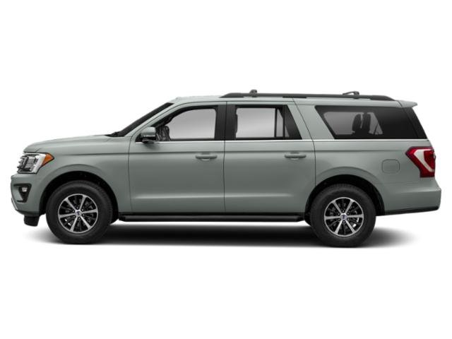 Silver Spruce Metallic 2019 Ford Expedition Max Pictures Expedition Max Platinum 4x4 photos side view