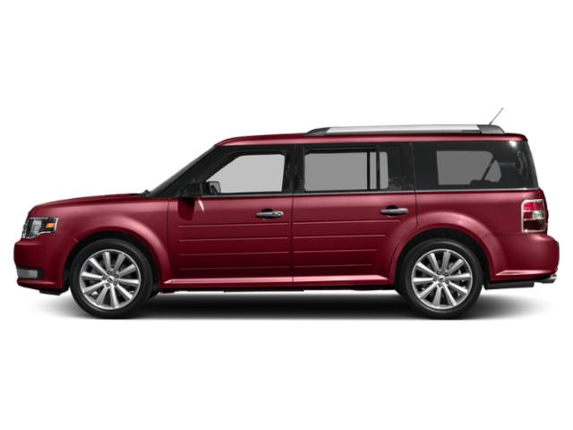 Ruby Red Metallic Tinted Clearcoat 2019 Ford Flex Pictures Flex SEL AWD photos side view
