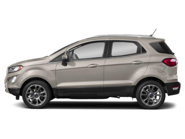 Moondust Silver Metallic 2019 Ford EcoSport Pictures EcoSport Titanium FWD photos side view