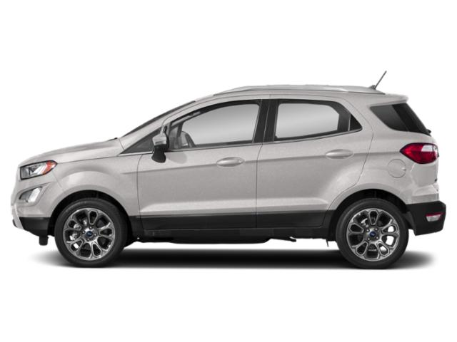White Platinum Metallic Tri-Coat 2019 Ford EcoSport Pictures EcoSport Titanium FWD photos side view